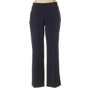 Christopher & Banks stretchy navy blue pants 10